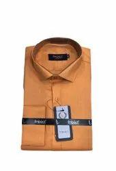 Impact Designer Cotton Mens Full Sleeves Formal Shirt, Handwash, Size: Xxl