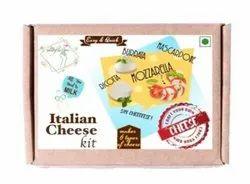 Italian Cheese Making Kit, DIY Mozzarella, Mascarpone, Ricotta, Burrata