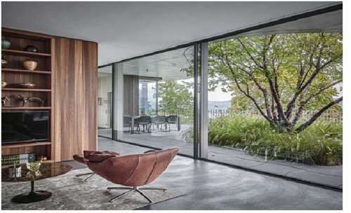 Aluminium Minimal Large Size Panel Windows, विंडो पैनल - Winnovate, Thane |  ID: 23226254091