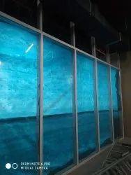 Toughened Glazing Glass work