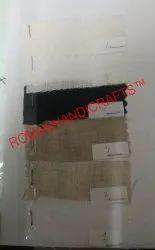 White Linen fabrics type 3, GSM: 100-150