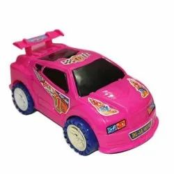 Pink Kids Plastic Car Toy, Child Age Group: 3-5 Year, No. Of Wheel: 3 Wheel