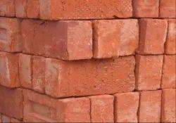 Clay Rectangular Rajahmundry Building Red Bricks, Size: 9(l) X 6( B)x 5(h) Inches