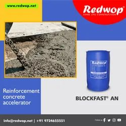 REDWOP BROWN COLOR BLOCKFAST AN-Accelerating admixture, For Construction
