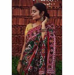 handwoven double ikkat patola saree