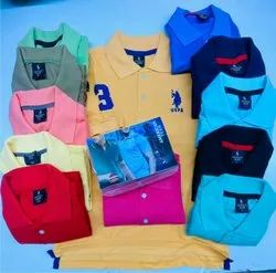 Cotton Collar T Shirts, Age Group: 18 To 55