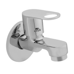Crox Chrome Plated Brass Short Body Tap, For Bathroom Fitting, Size: 15mm (thread Size)