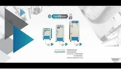 Automatic OptiMaser Microwave Medical Waste Disinfection System