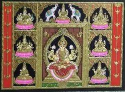 Astalakshmi Tanjore Paintings