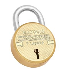 Ramson With Key 65 mm Pad Locks
