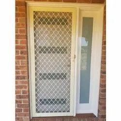 6 Feet 3.5 Feet Aluminium Mesh Door