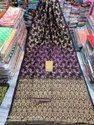 Auras Festive Wear Cotton Linen Banarasi Saree With Butis