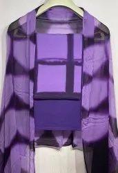 Exclusive Natural Bagru Ajrakh Hand Block Printed Cotton Dress Material.