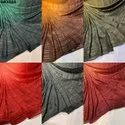 Georgette Shaded Lurex Color Fabric