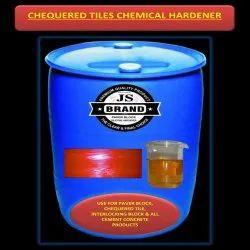 Chequered Tiles Chemical Hardener