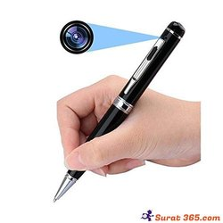 Pen Camera Full HD 1080P Silver With Shutter