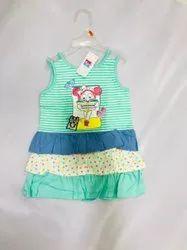 Cotton kids summer girls dress