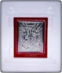 Silver Ganesh Wall Stand