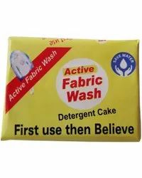 170g Active Fabric Wash Detergent Cake, Packaging Type: Packet, Shape: Rectangle