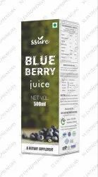 Ssure Herbal Blueberry Juice Non-GMO, Gluten and BPA Free Promotes Healthy Brain Function