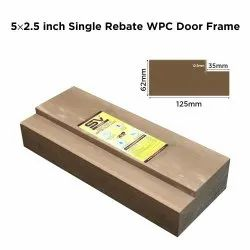 5x2.5 Inch Single Rebated WPC Door Frame