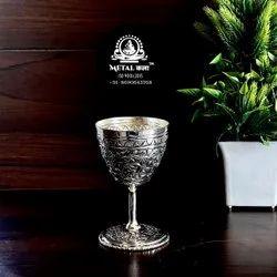 Brass Wine Glass Set