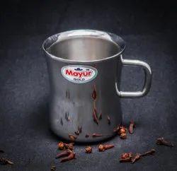 Double Wall Stainless Steel Damru Mug