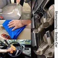 Shampooing Sedan Car