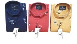 Mens Fancy Printed Cotton Full Sleeves Shirt