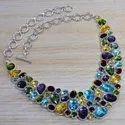 Wholesale Tourmaline 925 Silver Necklace And 925 Bracelets