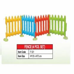 FRP Smooth Plastic Fence, PVC Coated, Size: W105xH75cm