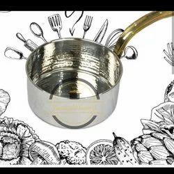 Round Steel Serving Sauce Pan, For Hotel/Restaurant