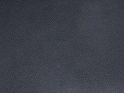 Plain Black Buff Finished Buffalo Leather