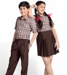 Summer Cotton Children School Uniform, Size: Medium