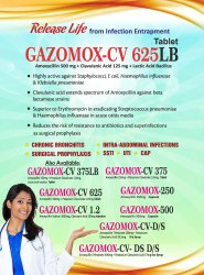 Gazomox Cv 625 Lb Tablets
