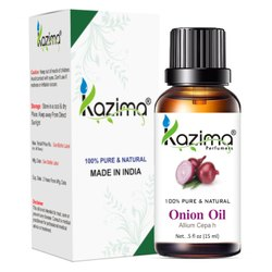 KAZIMA Onion Seed Oil- 100% Pure Natural & Undiluted