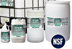NSF Registered Industrial Cleaner  & Degreaser Concentrate