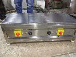 Stainless Steel Table Top Dosa Bhatti