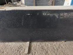 Honed Block Rajasthan Black Lapatro Granite, For Flooring, Thickness: 15-20 mm