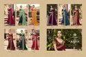 Heavy Chinon Georgette Fancy Designer Party Wear Ladies Sarees