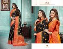 Sangam Prints Rosie Silk Printed Saree Catalog