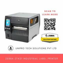 Zebra ZT421 Industrial Barcode Printer