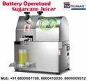 Battery Sugarcane Juice Machine