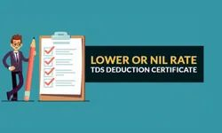 Financial Consultant TDS Lower Deduction Certificate Service, in Pan India