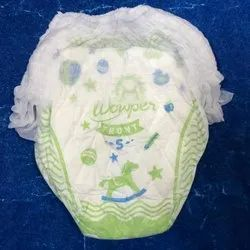 Disposable Pant Style Baby Diaper, Packaging Size: In Loose