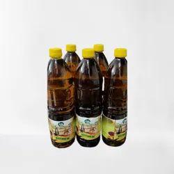 1 Litre Bull Driven Cold Pressed Mustard Oil