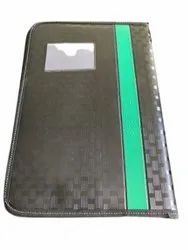 Zipper Leather Executive File Folder, For Office, Packaging Type: Packet