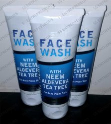 Ssure Herbal Face Wash Tube 120ml for Acne Free Skin