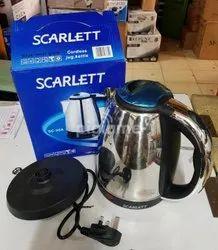 Stainless Steel Scarlett Electric Kettle