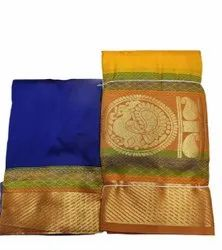 20 Attractive Colors Available Silk Pattu Pavadai, Size: 44